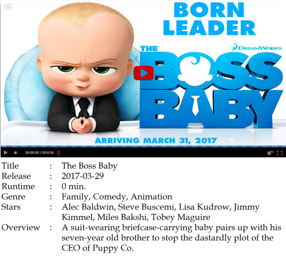 watch the boss baby for free online